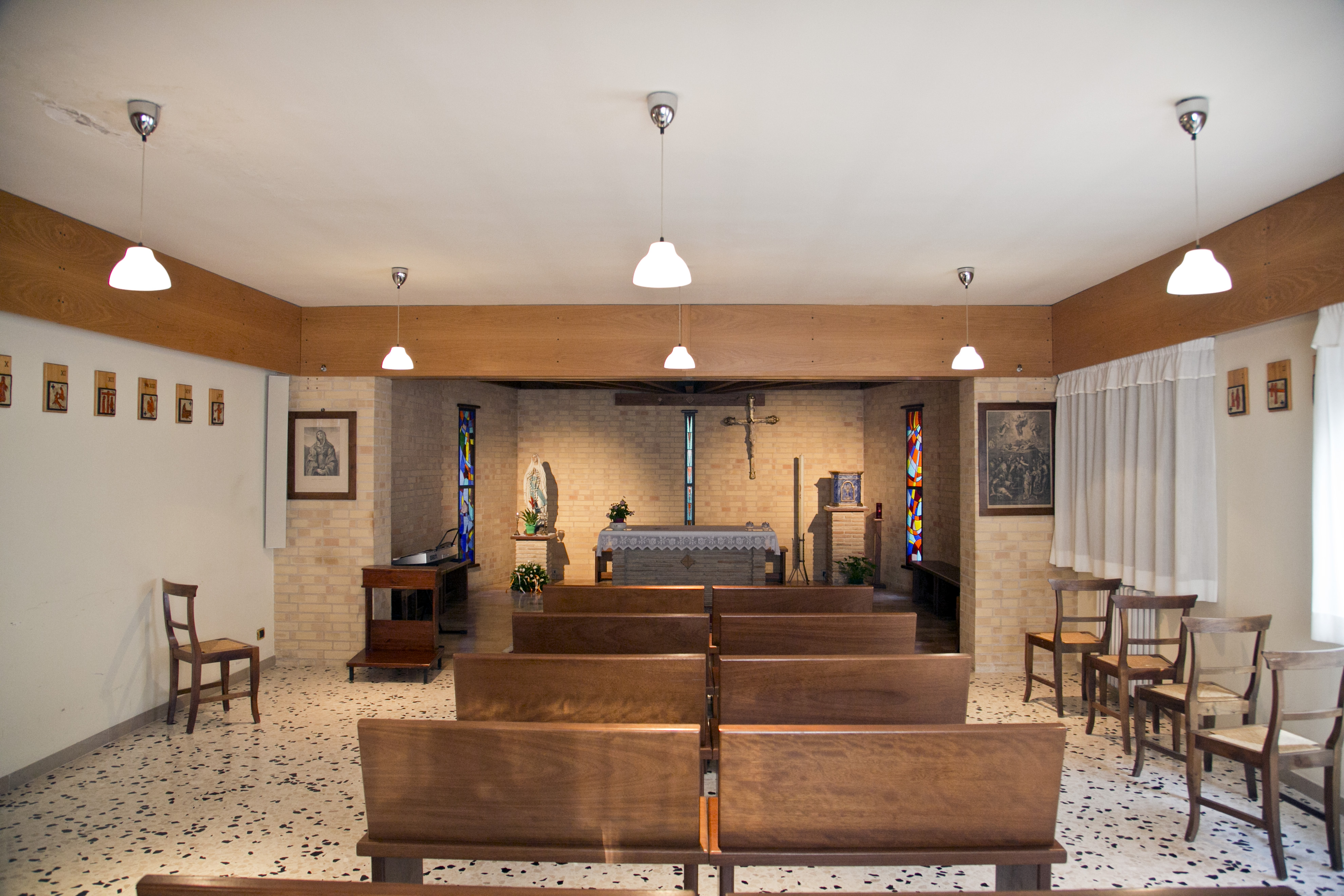 cappella della Comunità di Capodarco