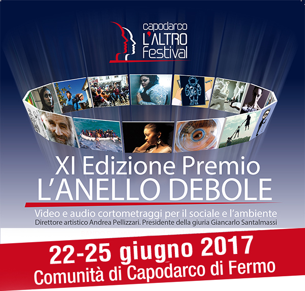 capodarco L'ALTRO FESTIVAL - XI edizione premio L'ANELLO DEBOLE