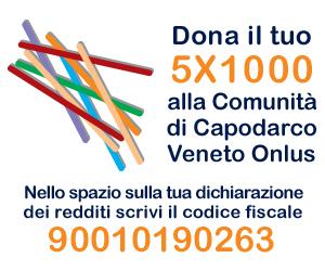 Il 5×1000 alla Comunità di Capodarco Veneto